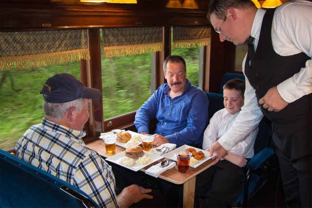 Father's Day - Beef & Beer for Dining Passengers