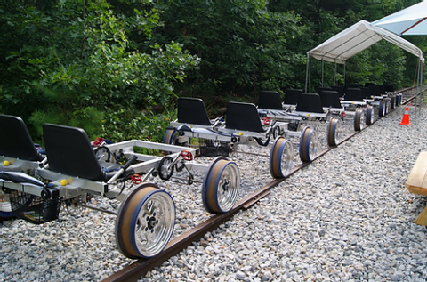 Secret Valley Explorers - Railbikes