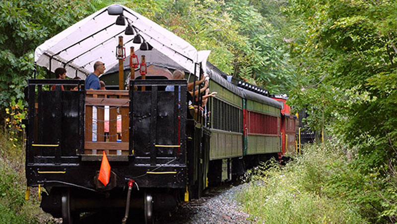 Colebrookdale Railroad open car