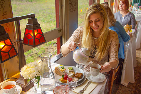Mother's Day Tea Train