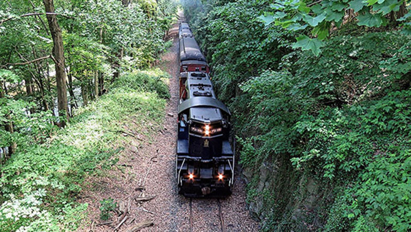 Colebrookdale Railroad in the Valley